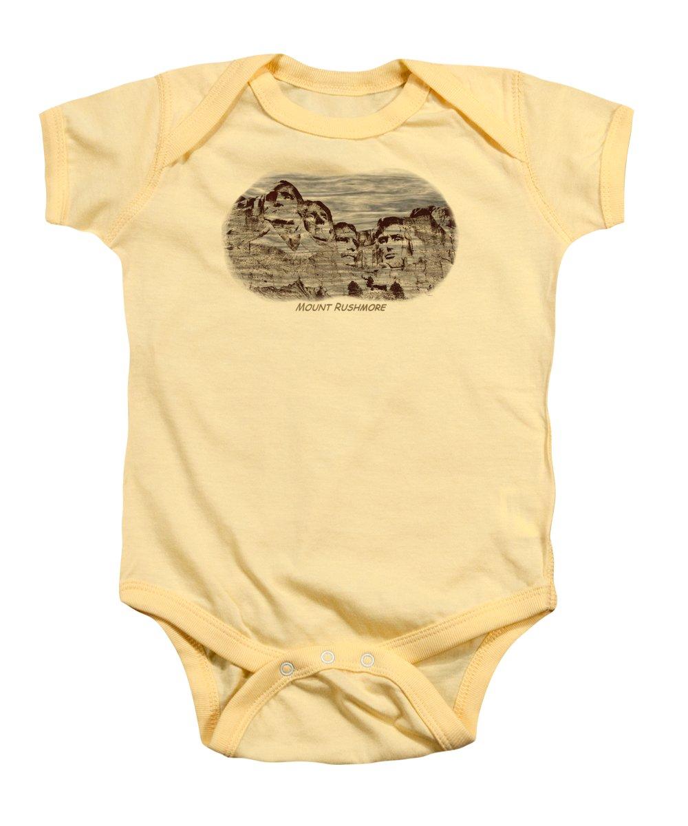 Lincoln Memorial Baby Onesies