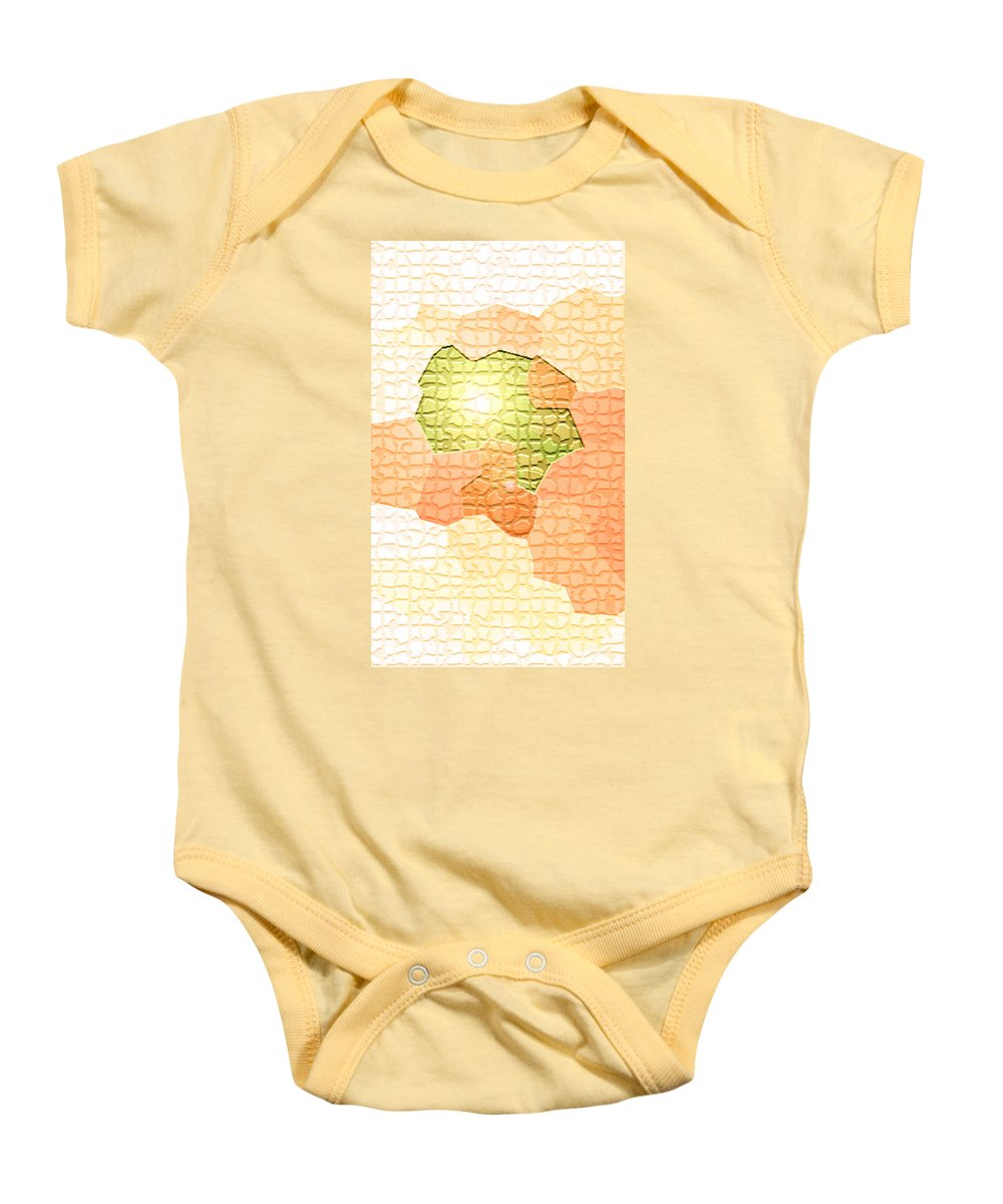 Moveonart! Digital Gallery Baby Onesie featuring the digital art Moveonart Youre Gonna Be Alright by Jacob Kanduch