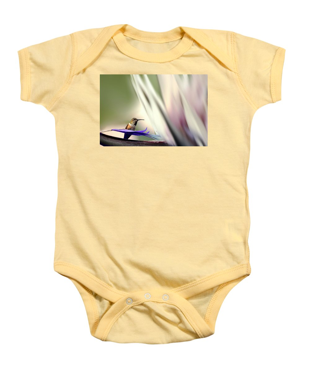 Nature Baby Onesie featuring the photograph Nature Marvel by Maria Wisniowska
