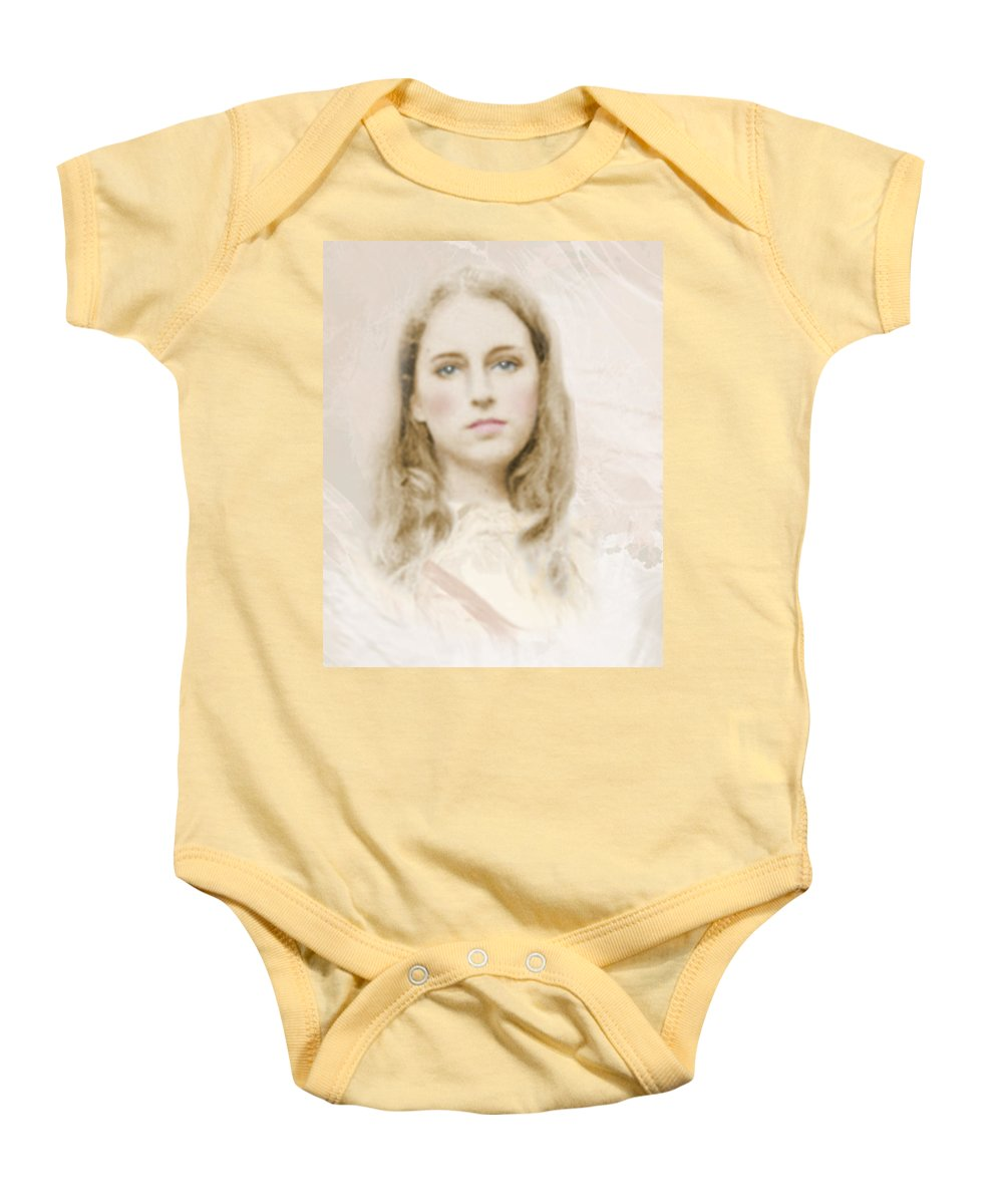 Portraits Baby Onesie featuring the photograph Pathos by Karen W Meyer