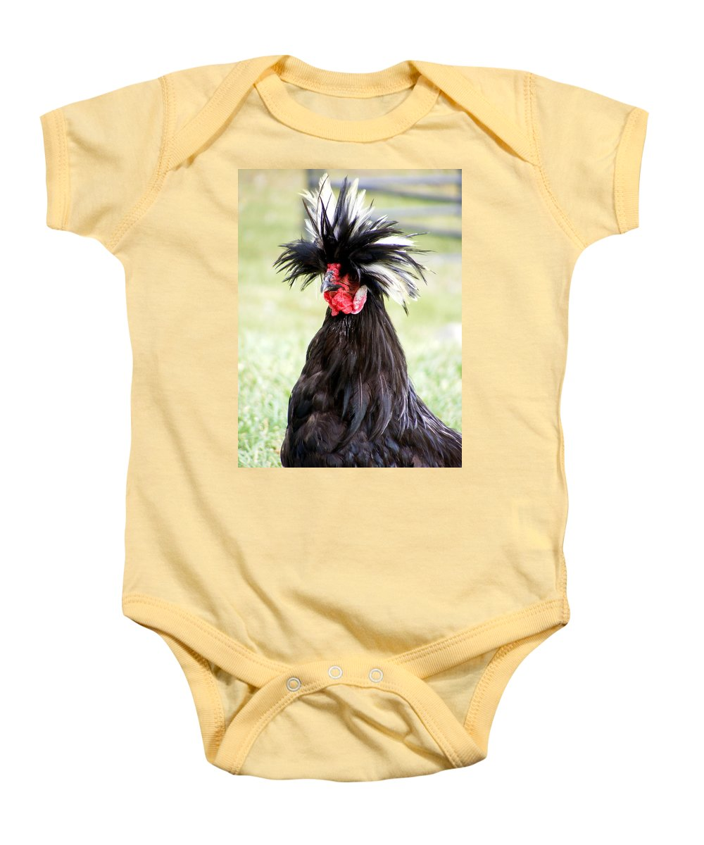 Phyllis Diller Who Baby Onesie featuring the photograph Phyllis Diller Who by Ed Smith