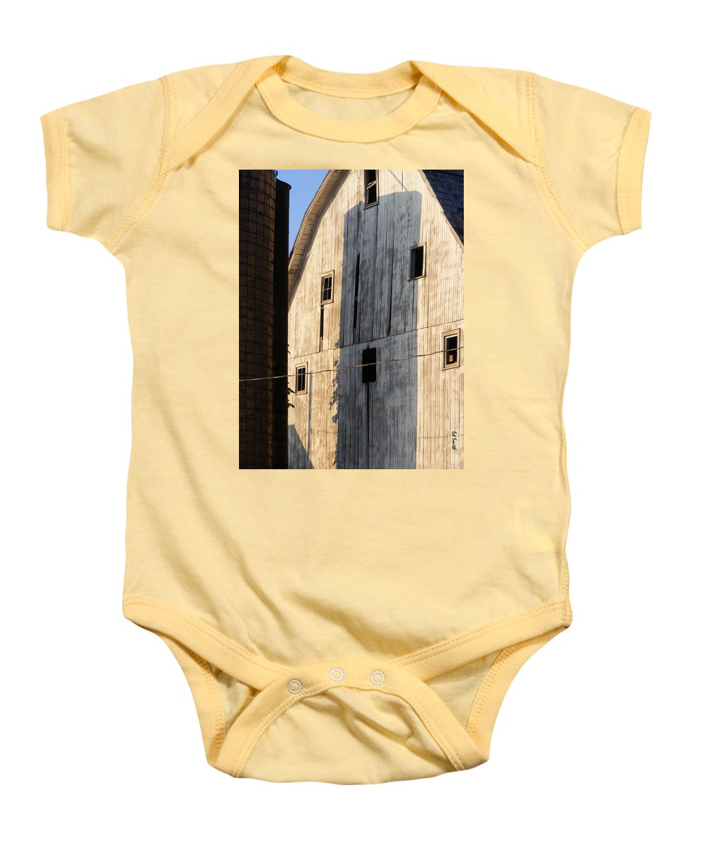 Storage Baby Onesie featuring the photograph Storage by Ed Smith