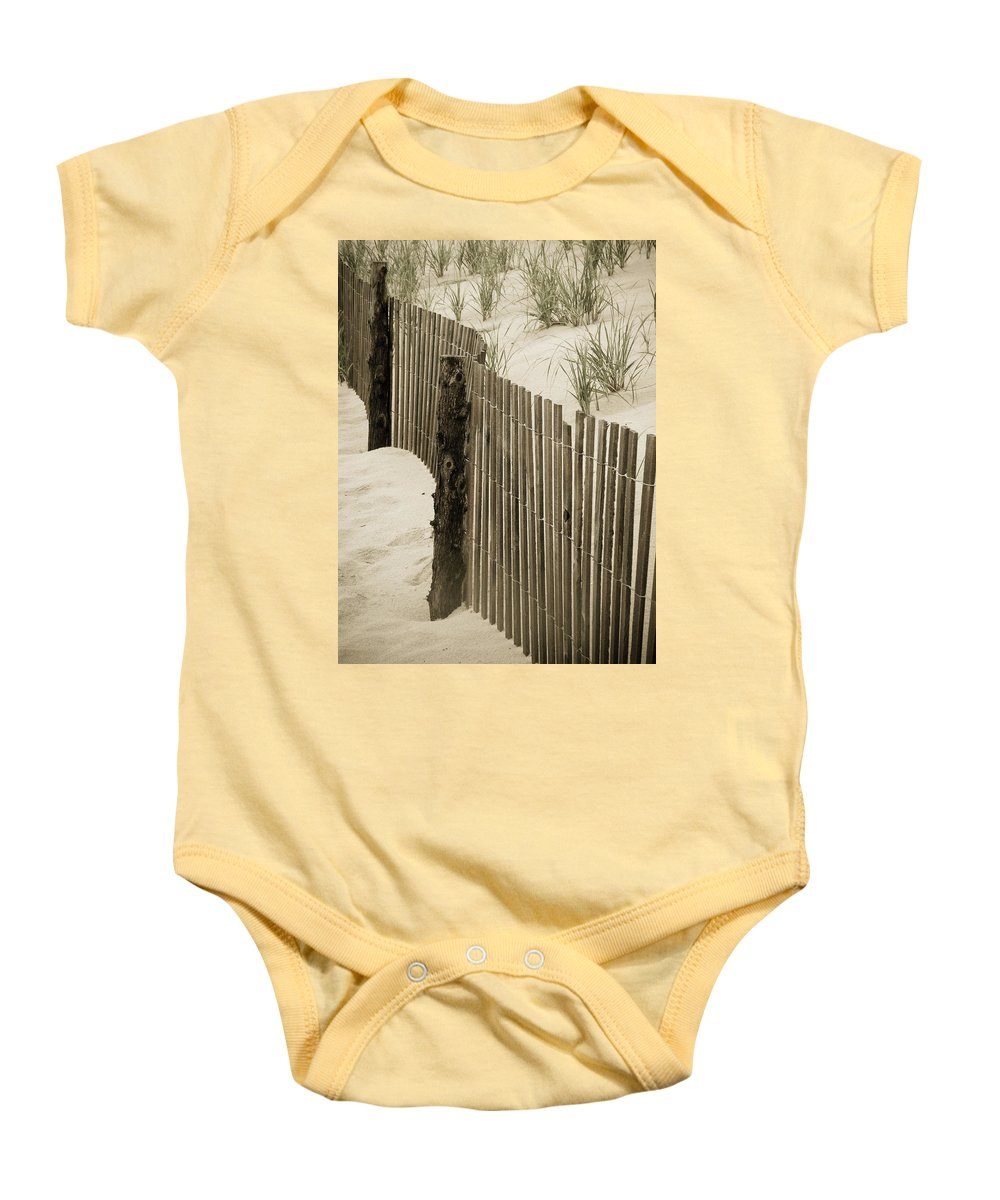 Beach Baby Onesie featuring the photograph Summer Dunes by Trish Tritz