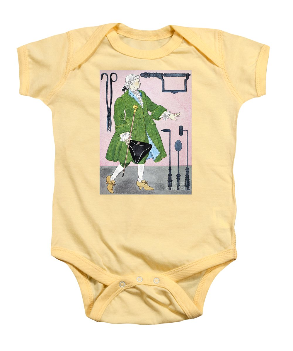 18th Century Baby Onesie featuring the photograph Surgeon, 18th Century by Granger