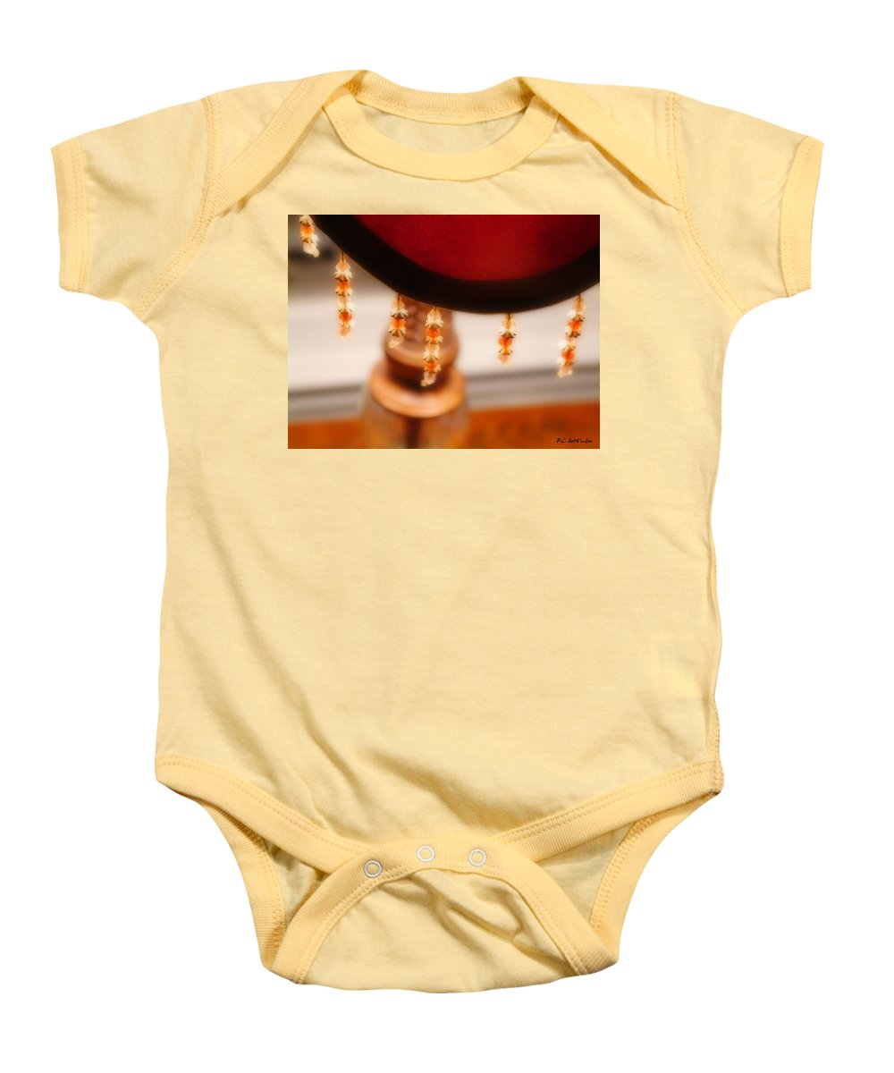 Brass Baby Onesie featuring the photograph The Curve Of Desire by RC DeWinter