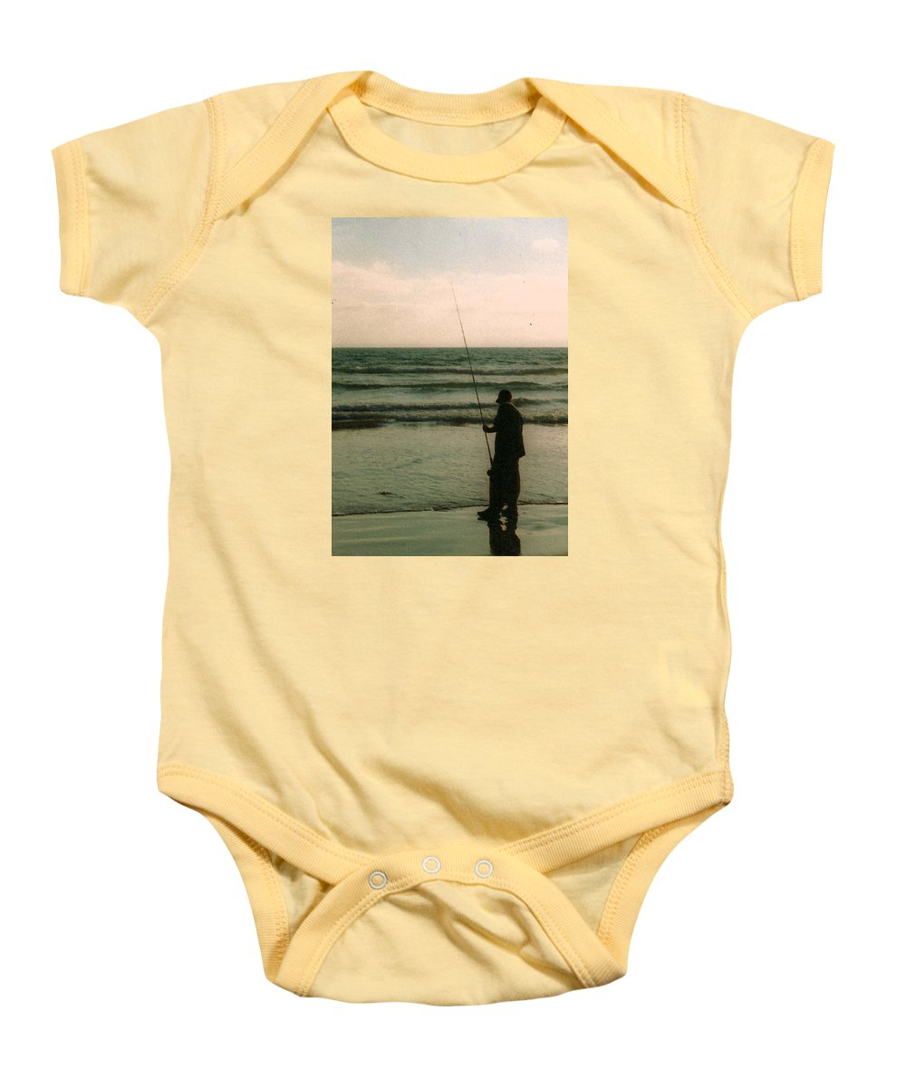 Fish Baby Onesie featuring the photograph The Fish Hunter by Danny Craig
