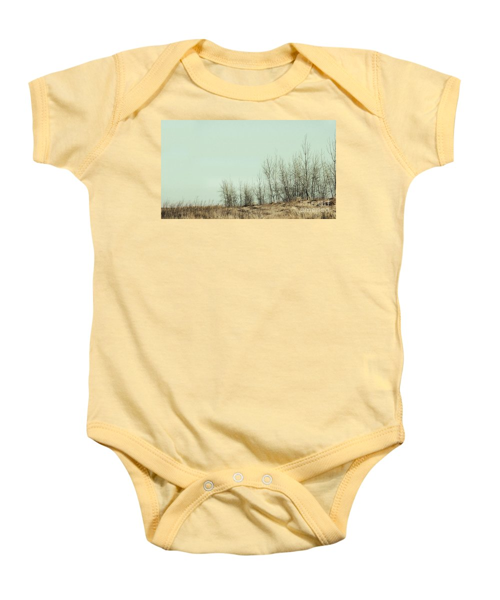 Trees Baby Onesie featuring the photograph The Things We Should Have Done To End Up Somewhere Else by Dana DiPasquale