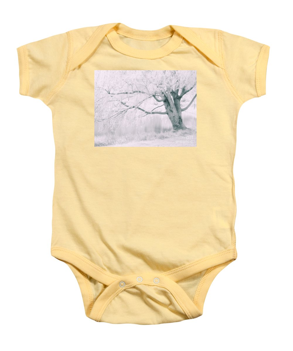 Tree Baby Onesie featuring the photograph There Was A Time.... by Tara Turner