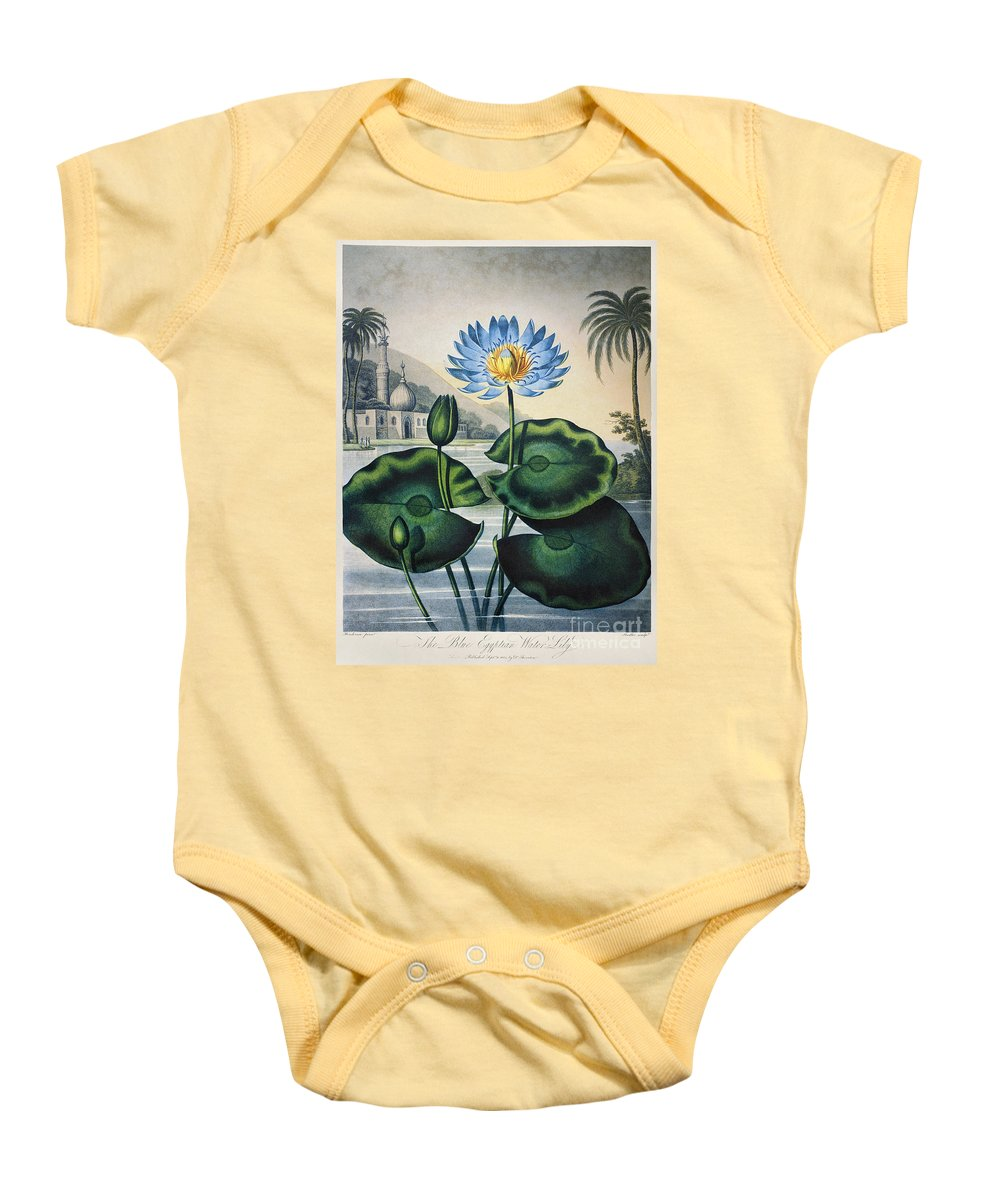 1804 Baby Onesie featuring the photograph Thornton: Water Lily by Granger