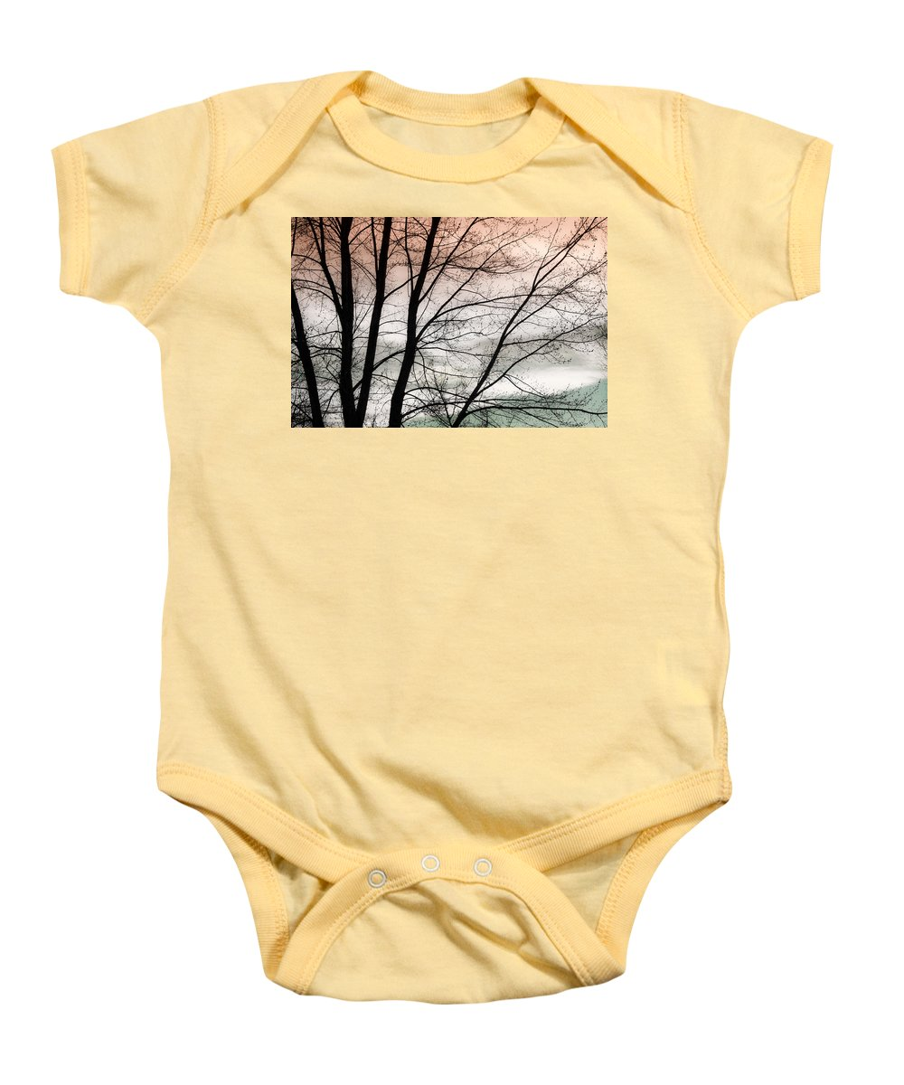 canvas Print Baby Onesie featuring the photograph Tree Branches by James BO Insogna