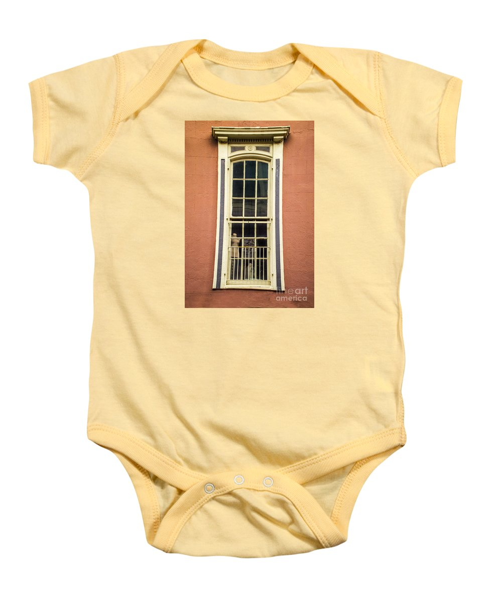 Wall Baby Onesie featuring the photograph Up Above by Frances Ann Hattier