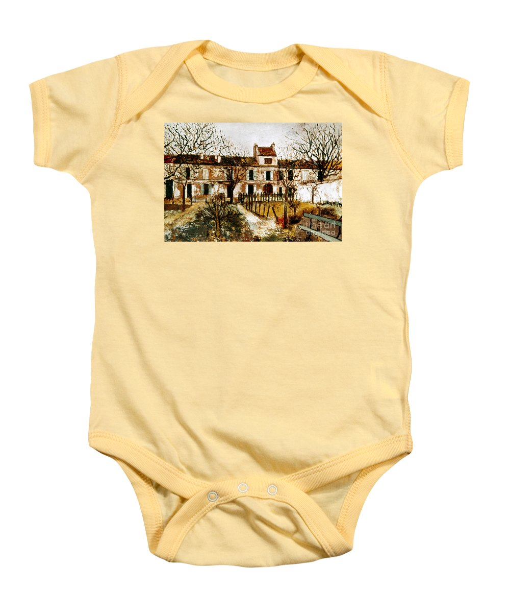 1908 Baby Onesie featuring the photograph Utrillo: Montmagny, 1908-9 by Granger