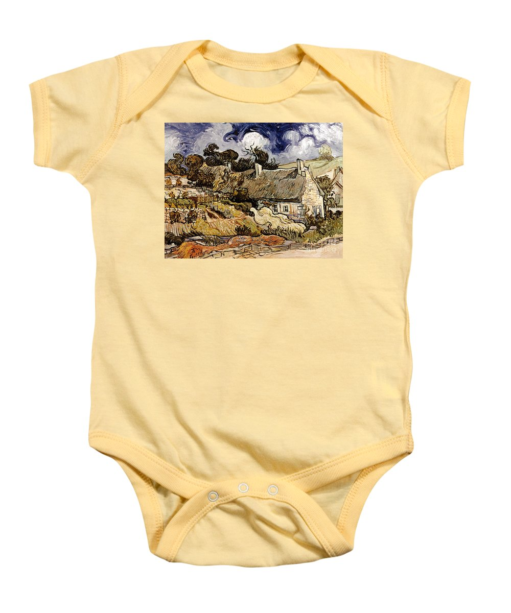1890 Baby Onesie featuring the photograph Van Gogh: Cordeville, 1890 by Granger
