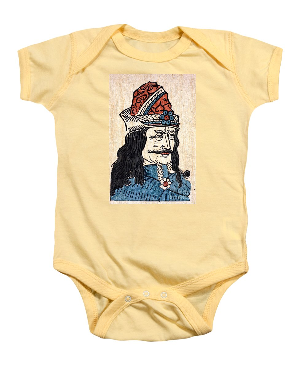 15th Century Baby Onesie featuring the photograph Vlad IIi (1431-1477) by Granger