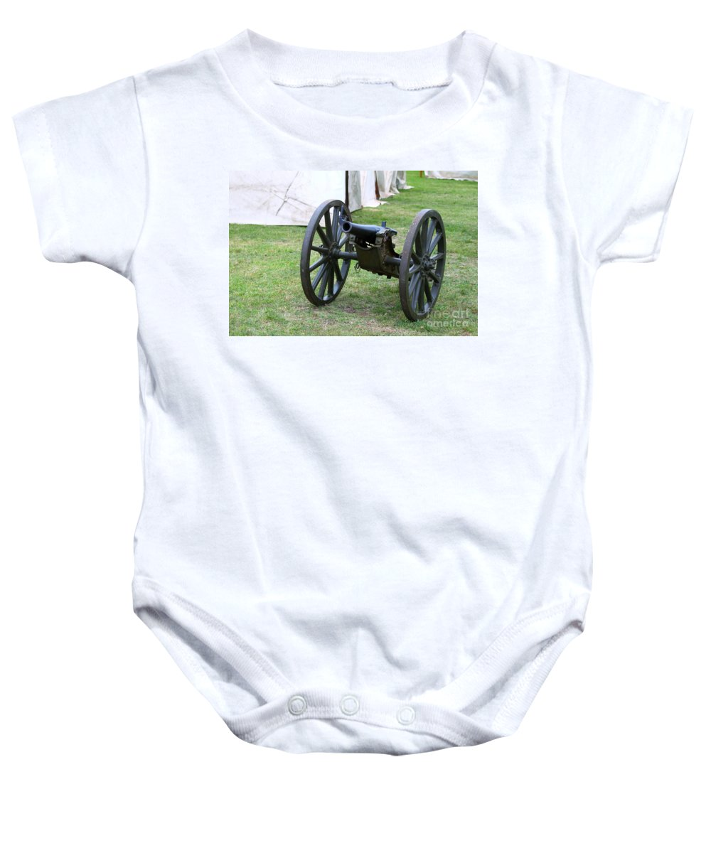 Canon Baby Onesie featuring the photograph Canon by Henrik Lehnerer