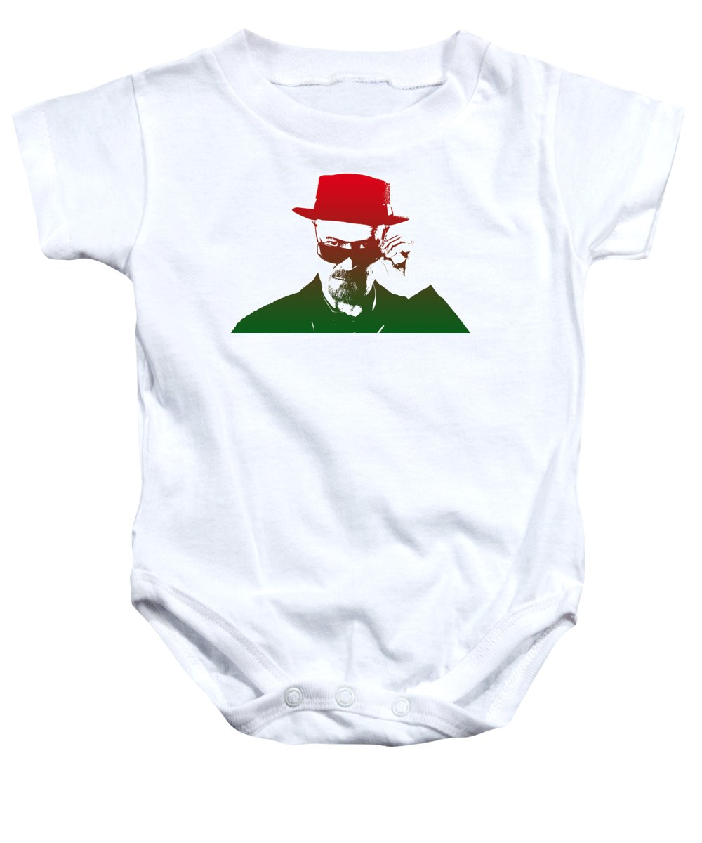 Breaking Bad Baby Onesie featuring the photograph Heisenberg - 2 by Chris Smith