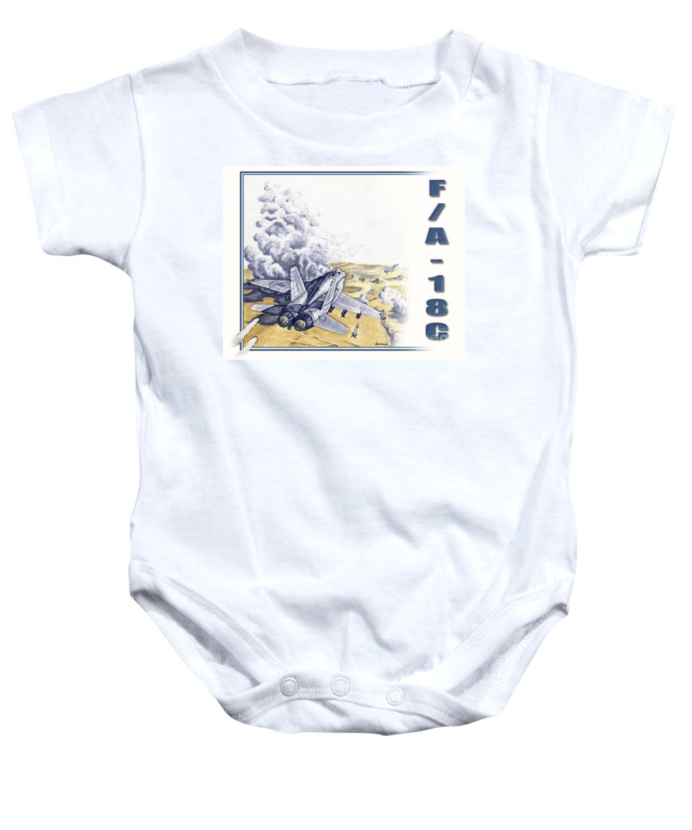Canvas Prints Baby Onesie featuring the drawing Target Sam Site by Joseph Juvenal