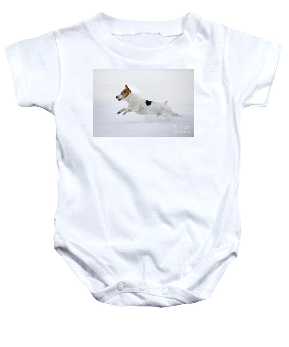 Run Baby Onesie featuring the photograph 130109p283 by Arterra Picture Library