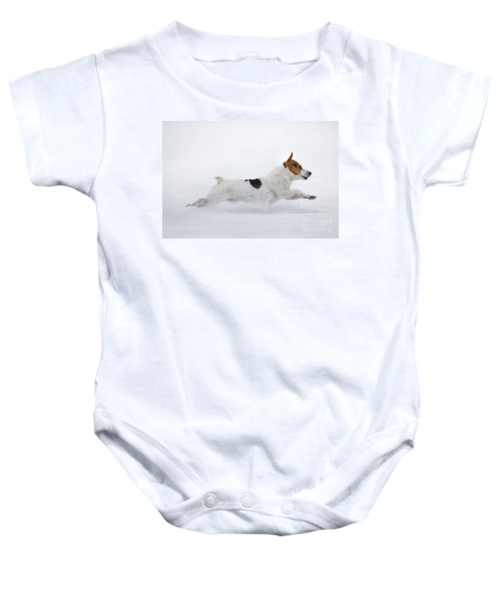 Run Baby Onesie featuring the photograph 130109p286 by Arterra Picture Library