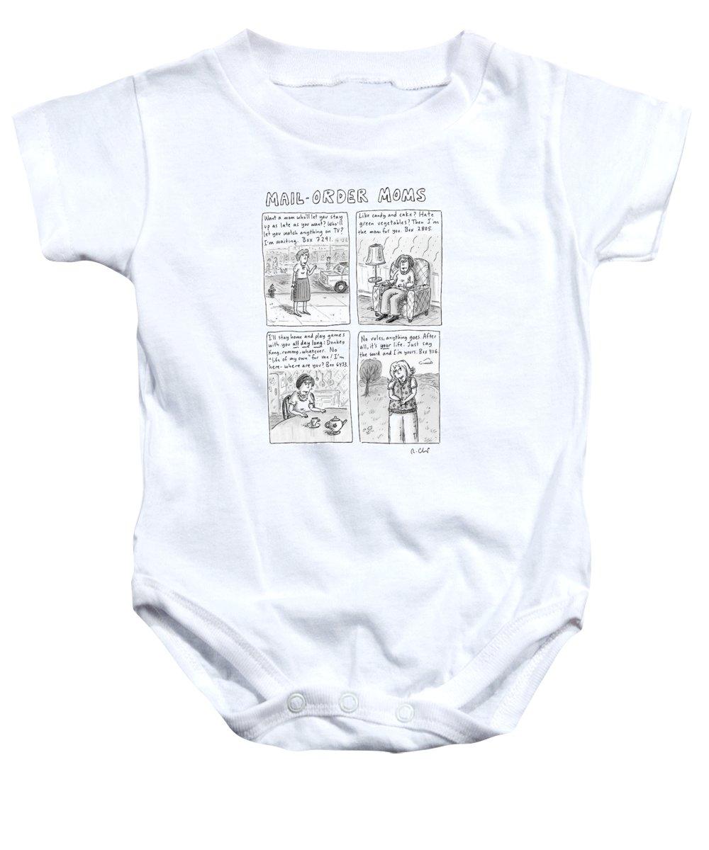 Mail-order Moms Baby Onesie