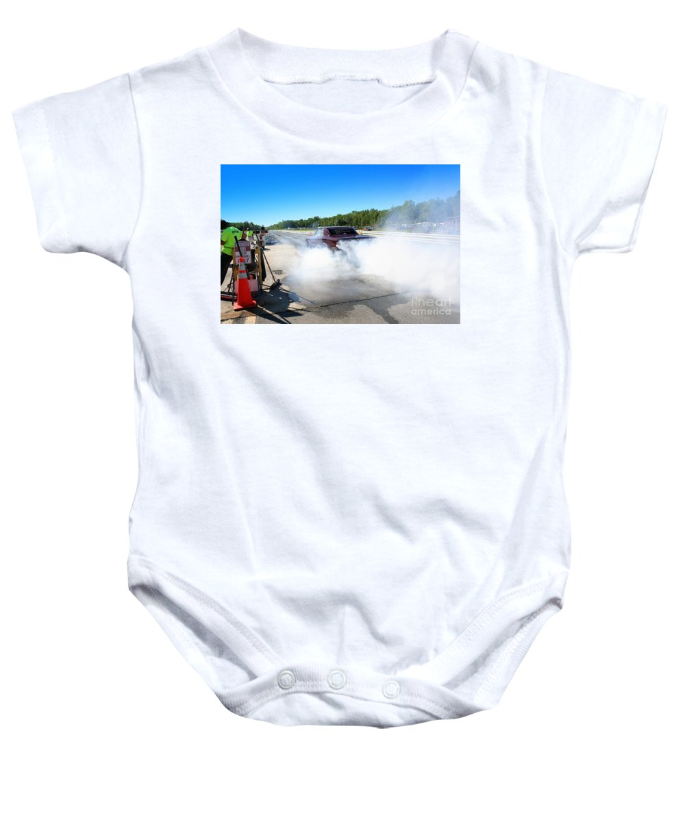 Esta Safety Park 09-07-14 Baby Onesie featuring the photograph 6699 Esta Safety Park 09-07-14 by Vicki Hopper