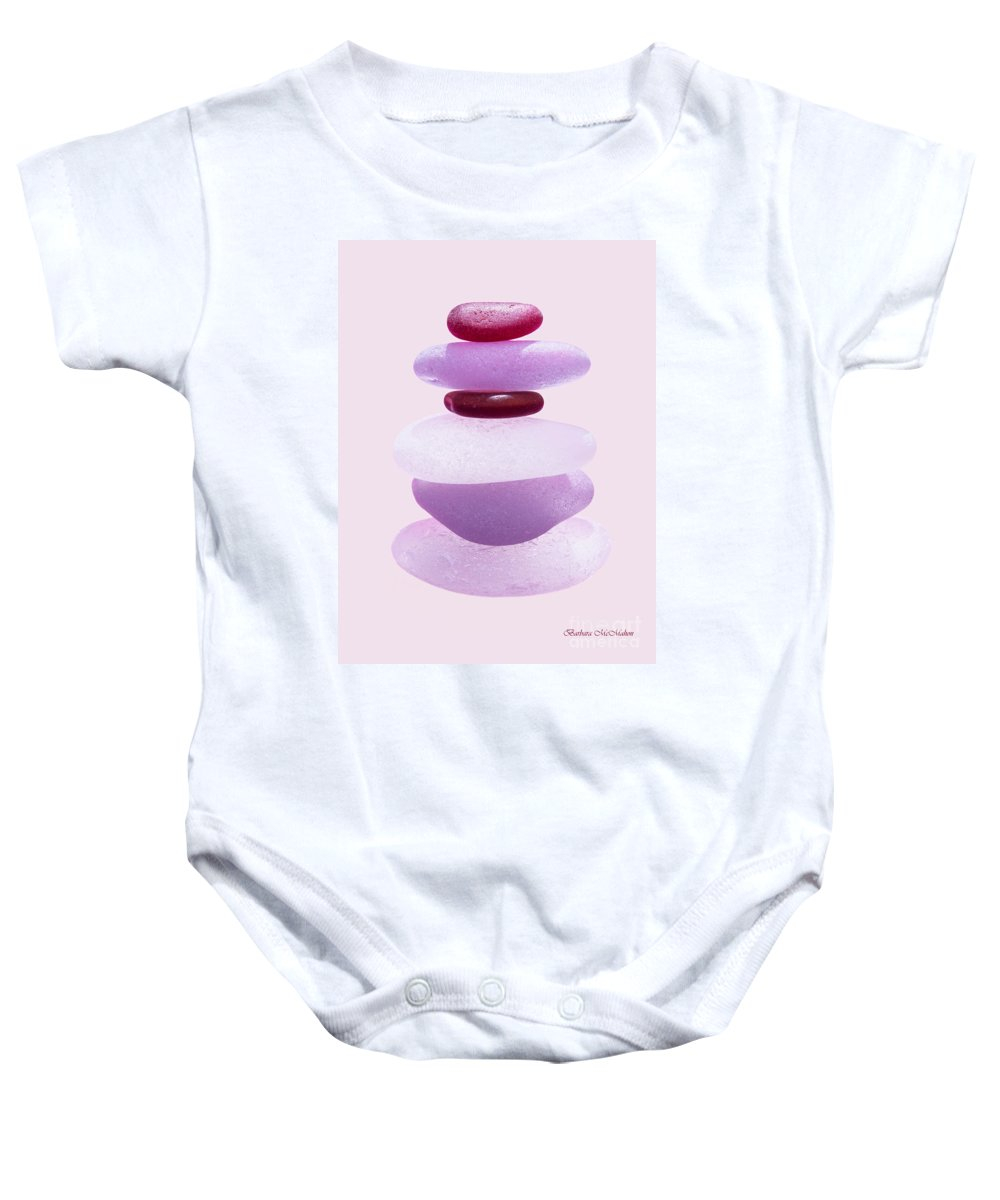 Seaglass Baby Onesie featuring the photograph A Mother's Heart by Barbara McMahon
