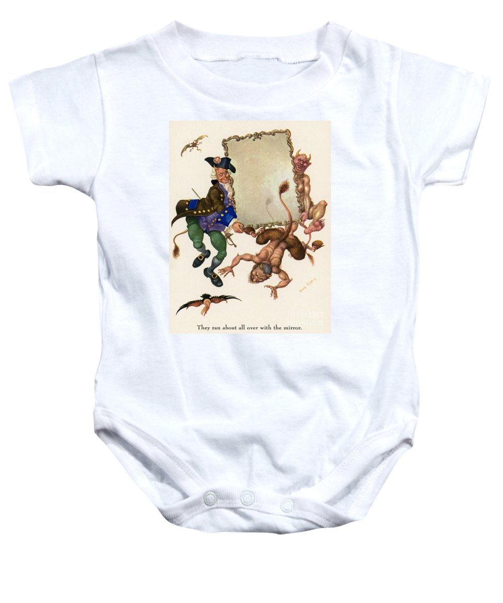 19th Century Baby Onesie featuring the photograph Andersen: Snow Queen by Granger