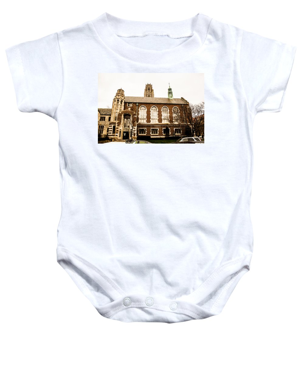 Chicago Baby Onesie featuring the photograph Beautiful Chicago Structures 3 by Verana Stark