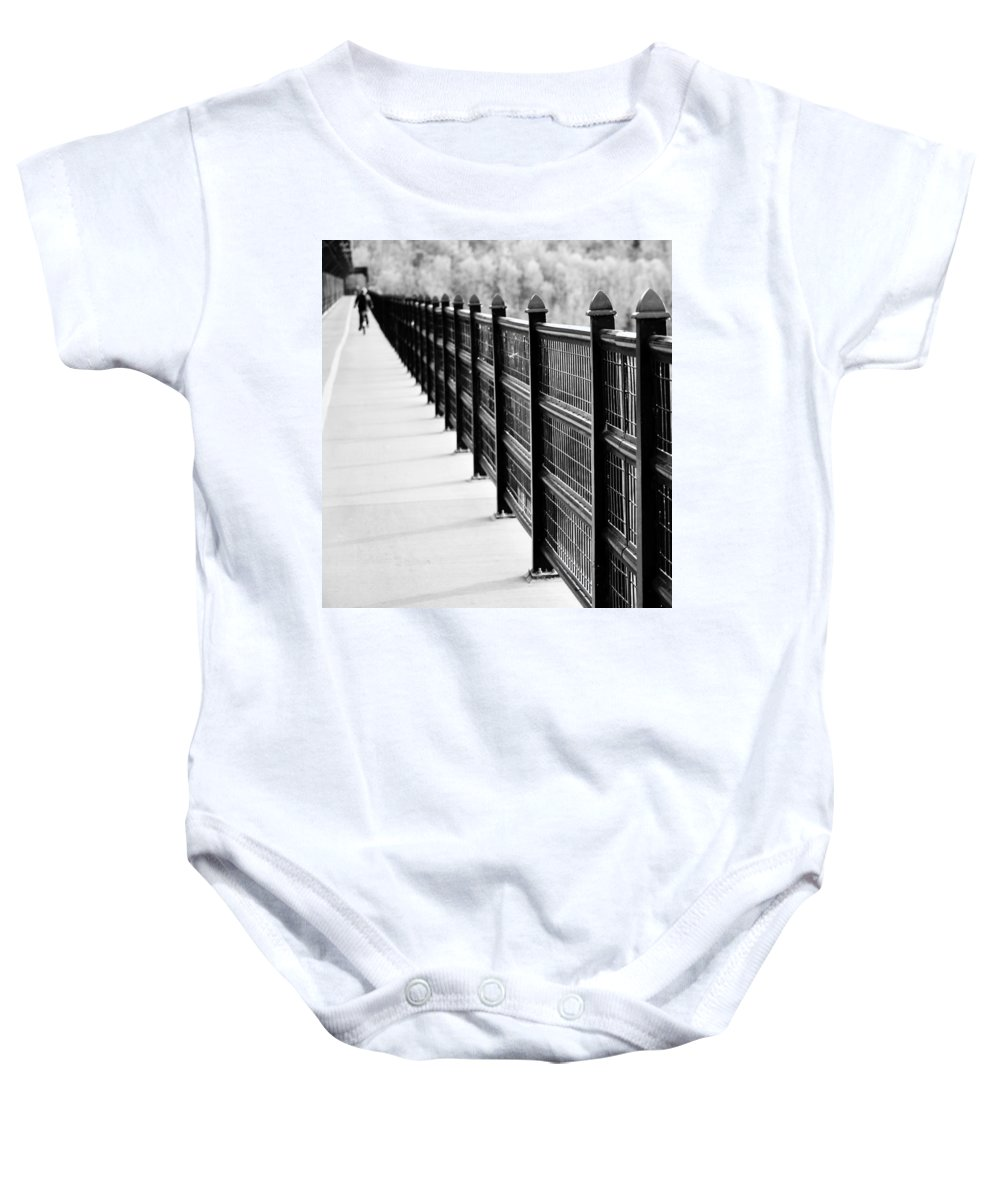 Bike Baby Onesie featuring the photograph Bike Ride by The Artist Project