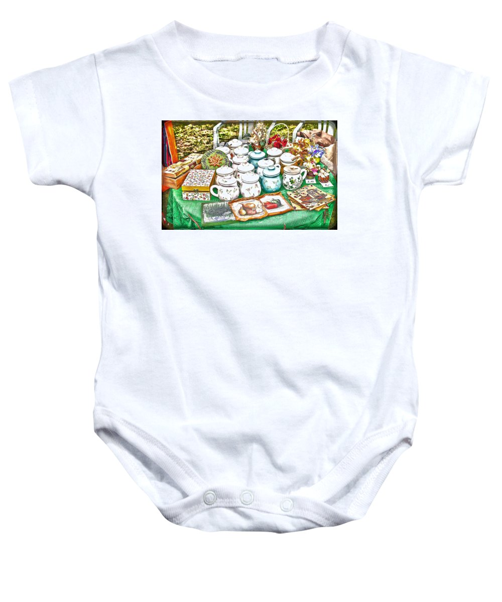 Slovakia Baby Onesie featuring the photograph Bits Of Slovak Culture 2 by Alex Art and Photo