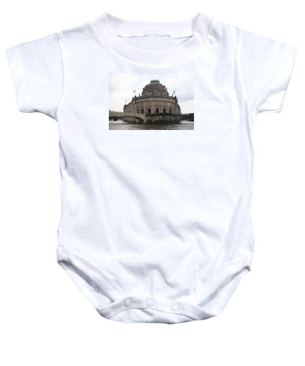 Museum Baby Onesie featuring the photograph Bode Museum - Berlin - Germany by Christiane Schulze Art And Photography