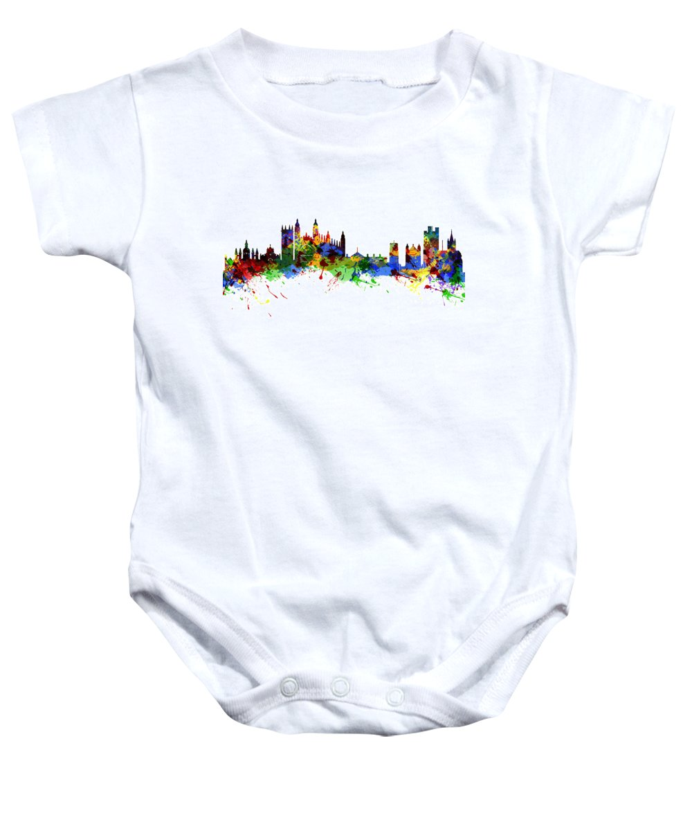 Cambridge Baby Onesie featuring the photograph Cambridge England by Chris Smith
