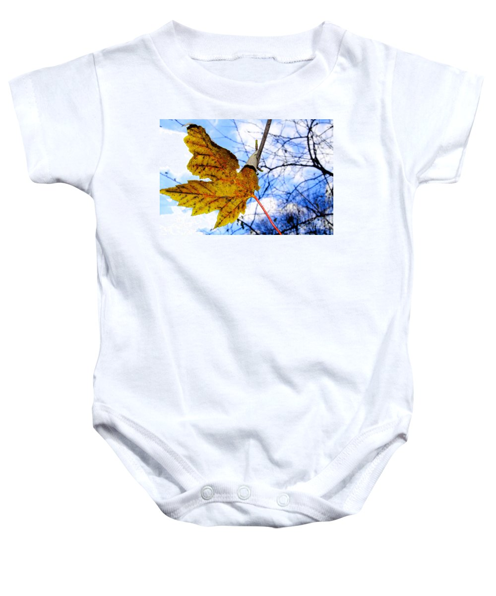 Caught Baby Onesie featuring the photograph Caught by Nina Silver