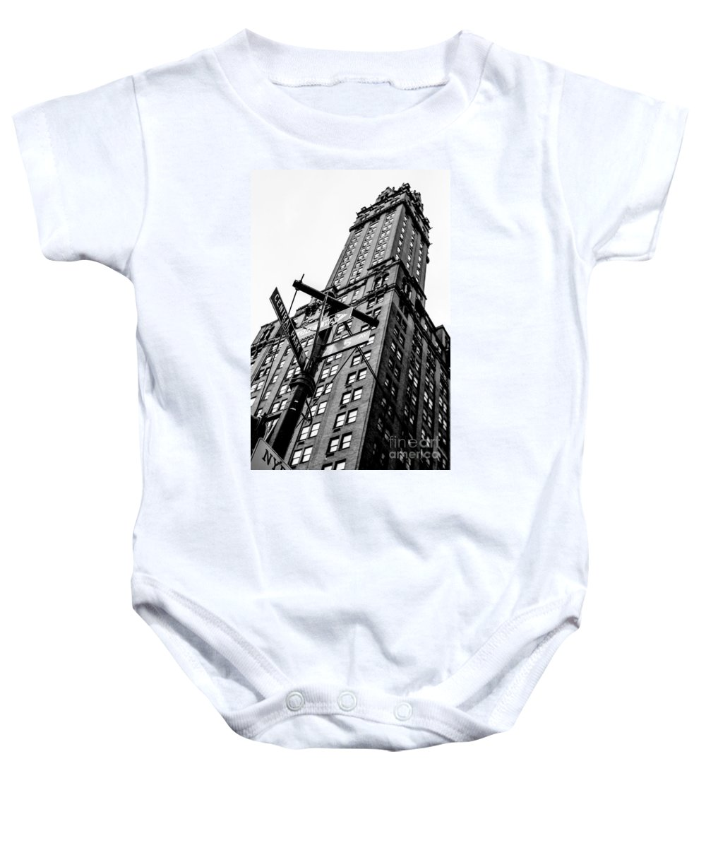Streets Of New York Baby Onesie featuring the photograph Central Park by Digital Kulprits