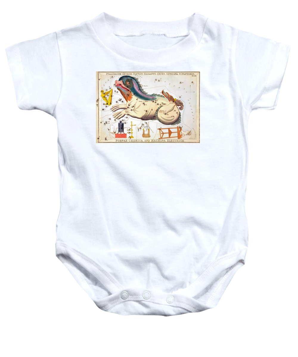 1825 Baby Onesie featuring the photograph Constellation: Cetus by Granger