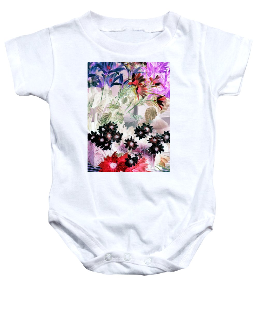Flower Baby Onesie featuring the photograph Country Comfort - Photopower 526 by Pamela Critchlow
