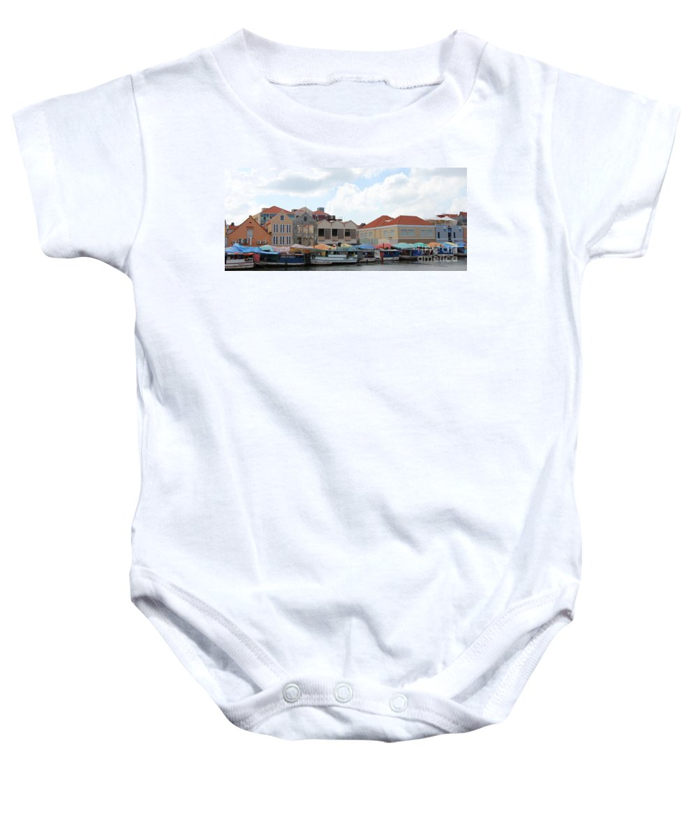 Curacao Baby Onesie featuring the photograph Curacao by Christy Gendalia