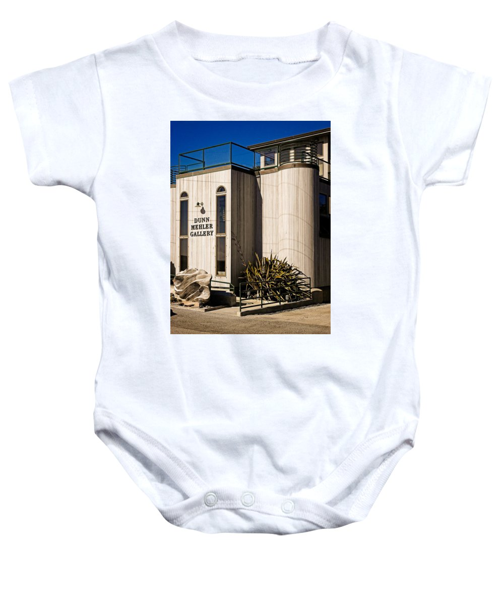 Art Gallery Baby Onesie featuring the photograph Dunn Mehler Gallery by Mark Llewellyn