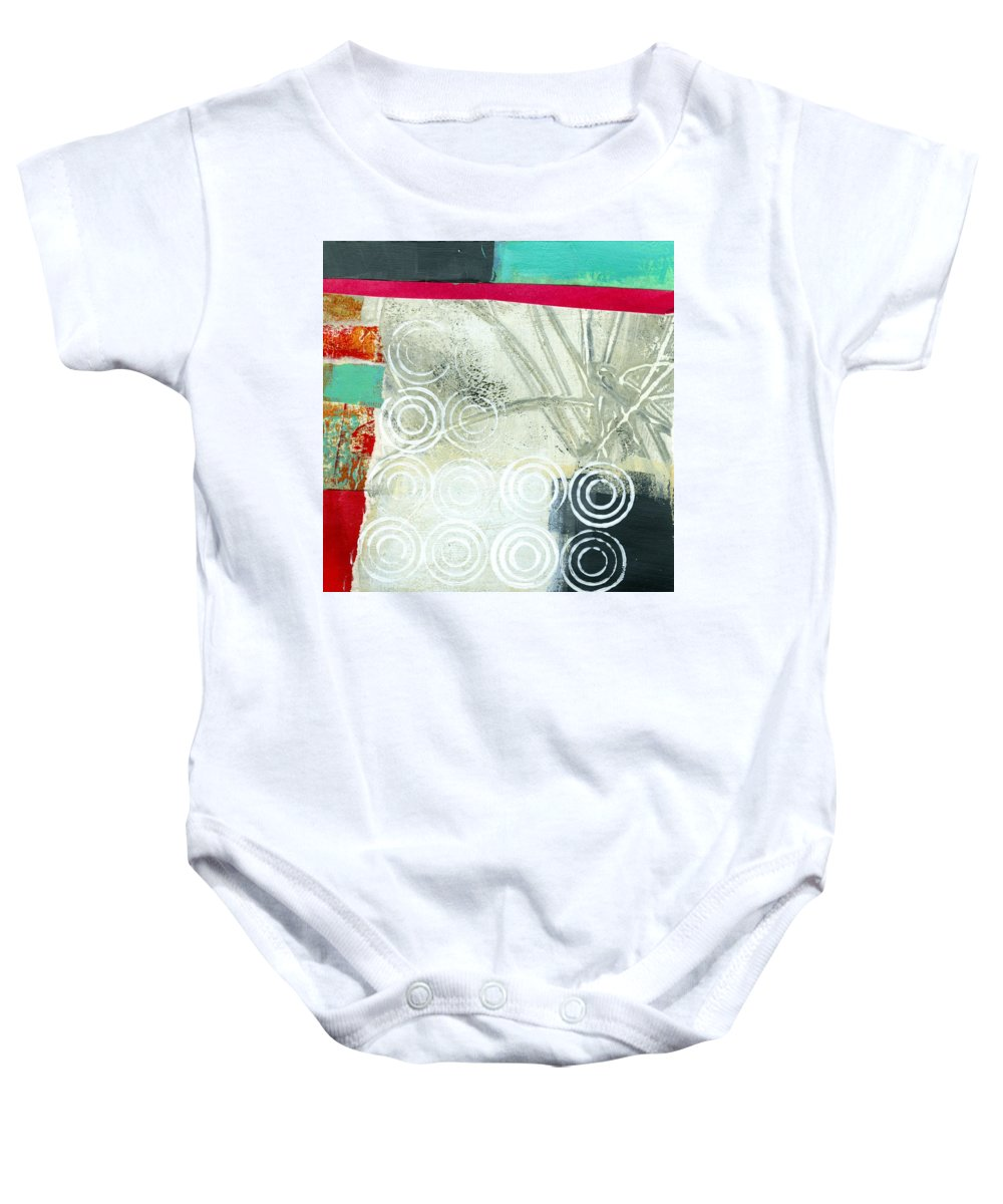 4x4 Baby Onesie featuring the painting Edge 51 by Jane Davies