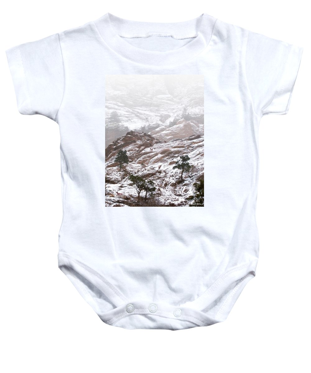 Mountains Baby Onesie featuring the photograph Elk Mountain by Bill Stephens