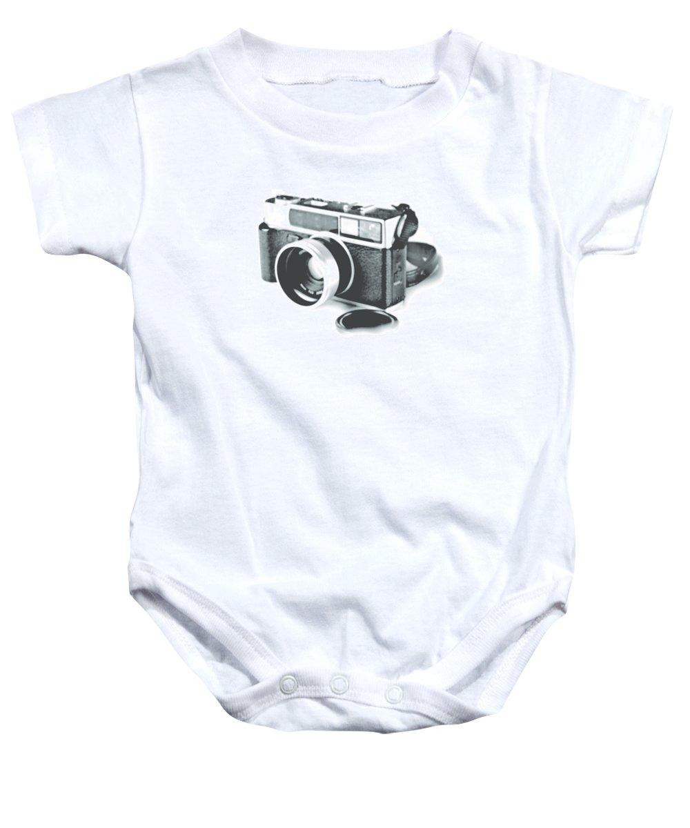 Rangefinder Baby Onesie featuring the photograph Favorite Camera by Robert Mollett