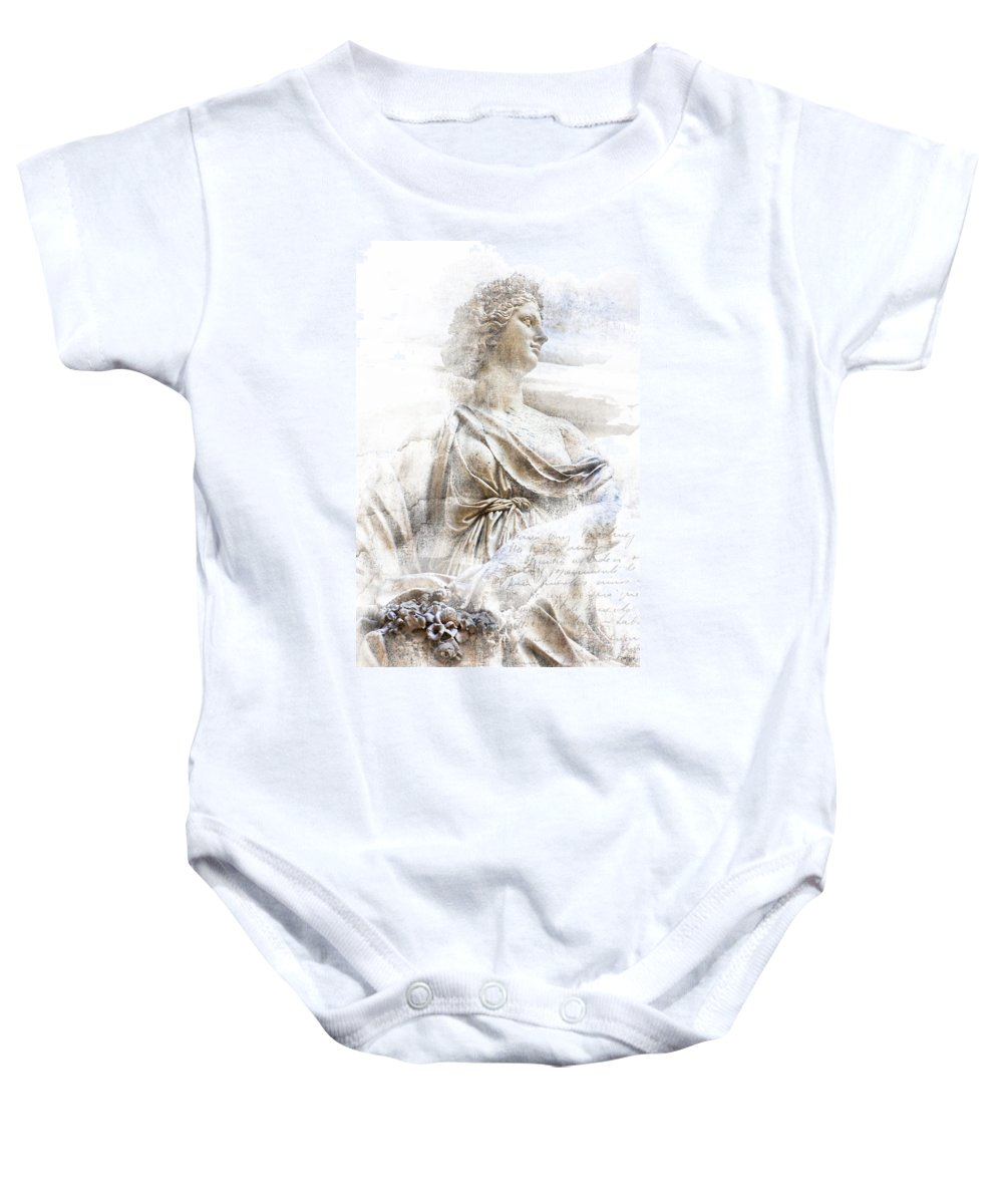 Cherub Baby Onesie featuring the photograph Flowers by Evie Carrier
