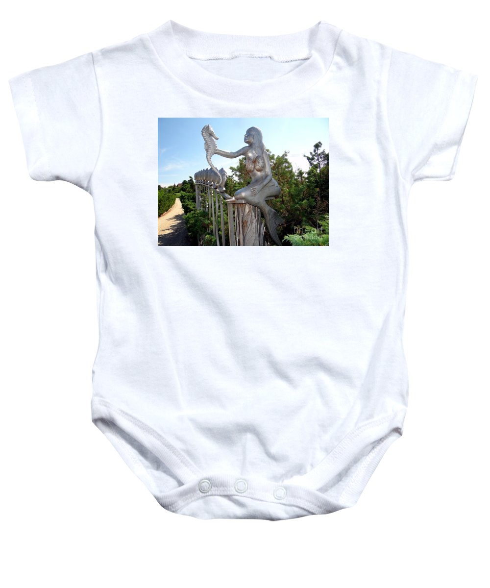 Mermaid Baby Onesie featuring the photograph Grand Entranceway by Ed Weidman