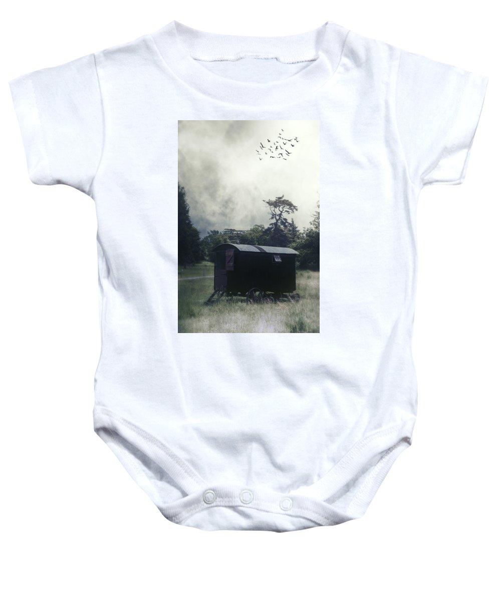 Caravan Baby Onesie featuring the photograph Gypsy Caravan by Joana Kruse