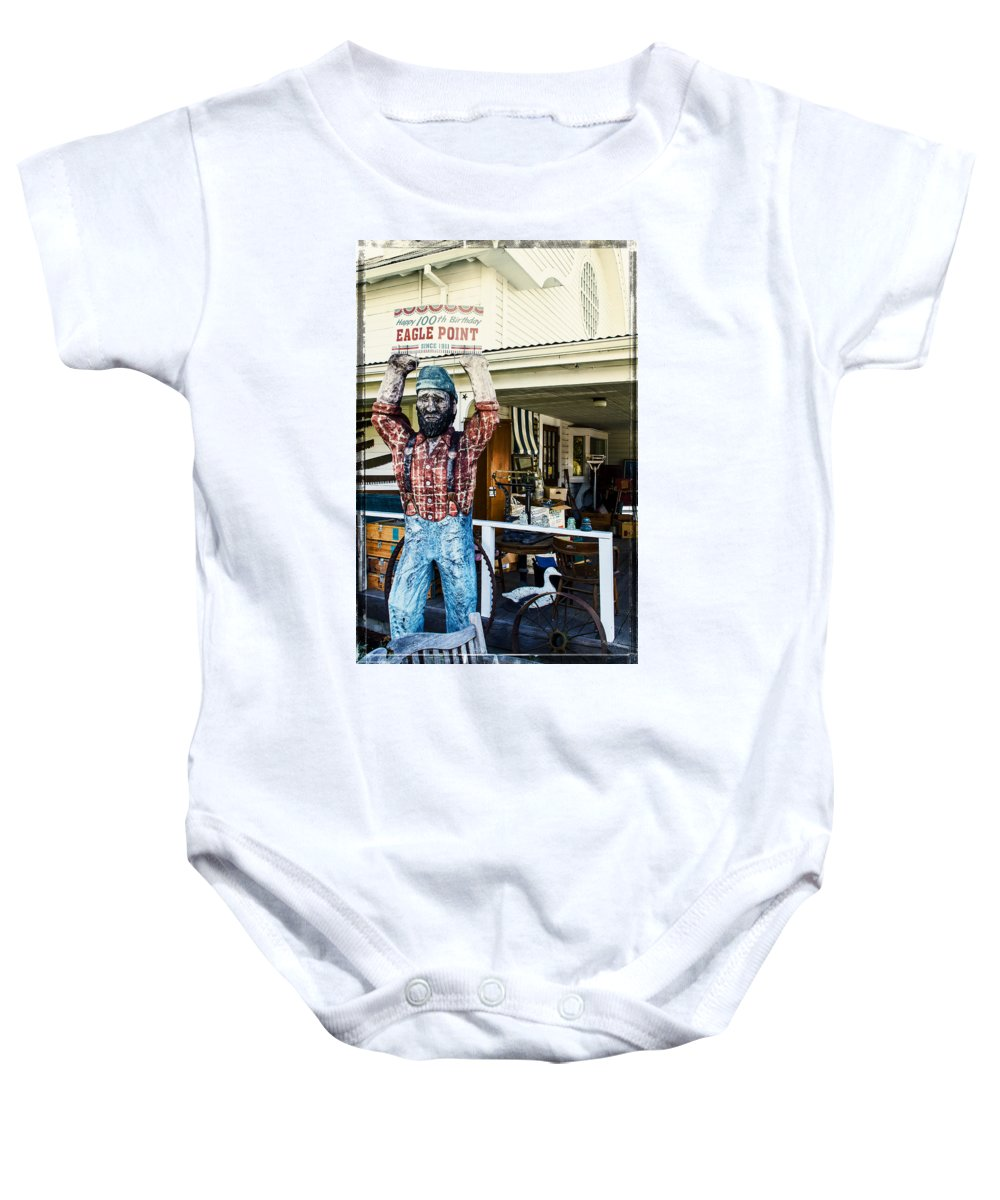 Historic Baby Onesie featuring the photograph Historic Eagle Point by Mick Anderson