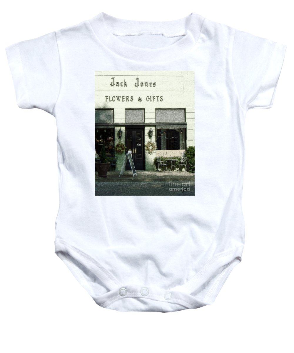 Historic Building Baby Onesie featuring the photograph Jack Jones by Lee Owenby
