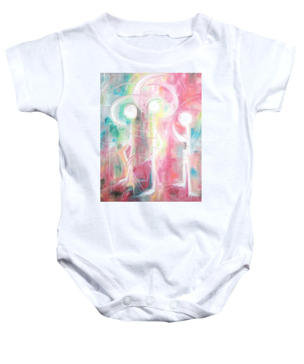Life Baby Onesie featuring the painting Life by Lord Frederick Lyle Morris