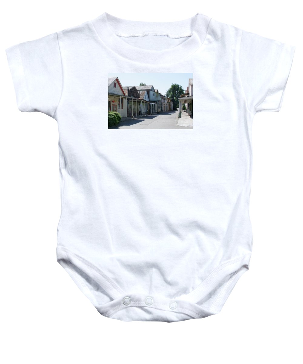 Landscapes Baby Onesie featuring the photograph Locke Chinatown Series - Main Street - 1 by Mary Deal