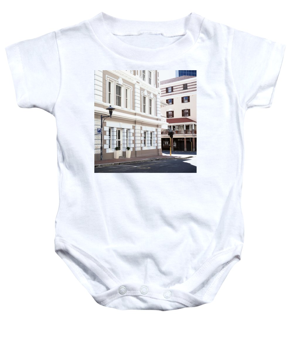 Cape Town Baby Onesie featuring the photograph Long Street by Shaun Higson