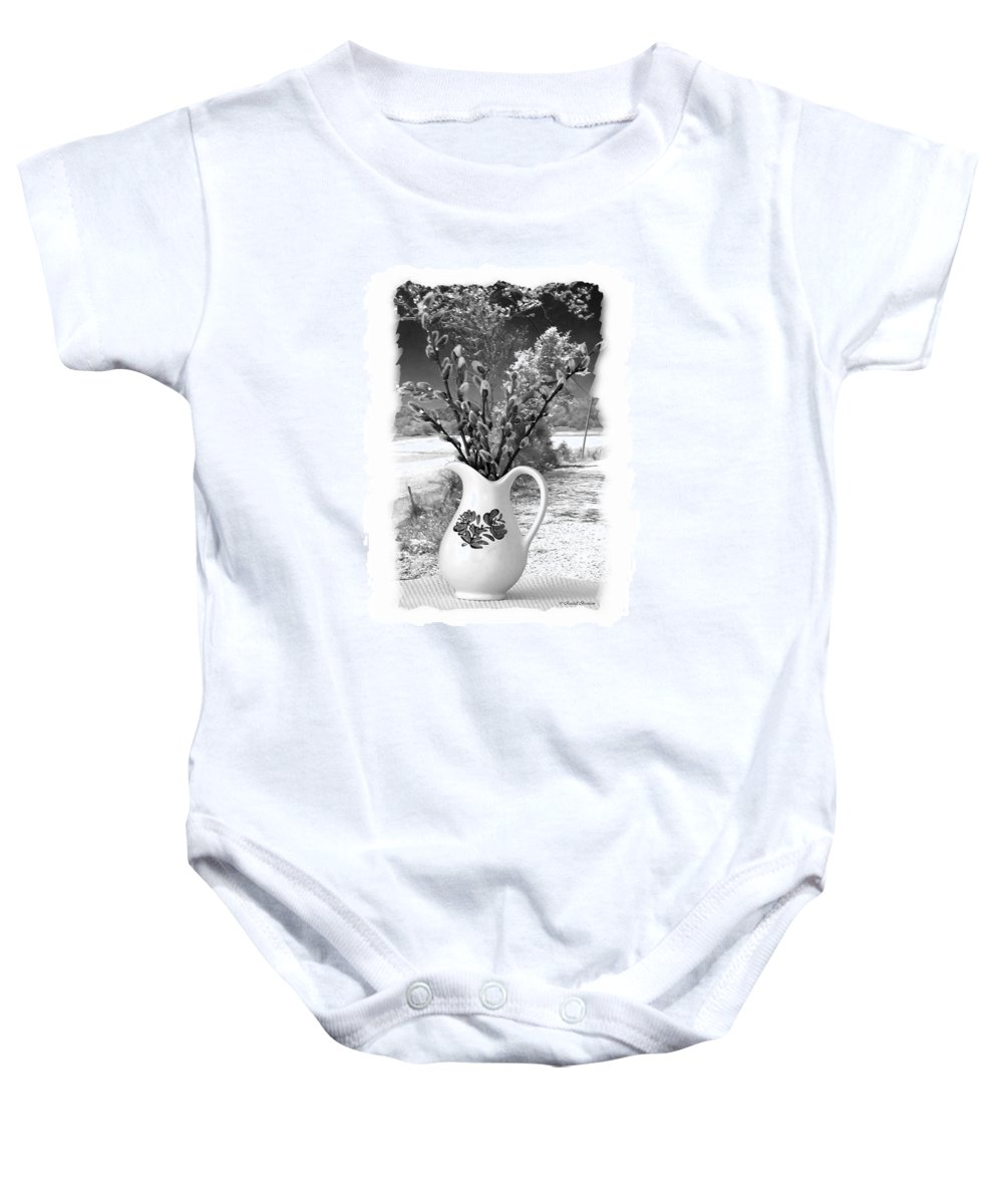 Window Baby Onesie featuring the photograph Looking Out The Window by Randall Branham